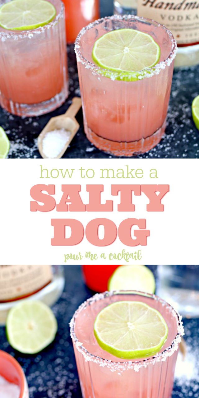 Salty Dog Cocktail Recipe - The Perfect Summer Drink