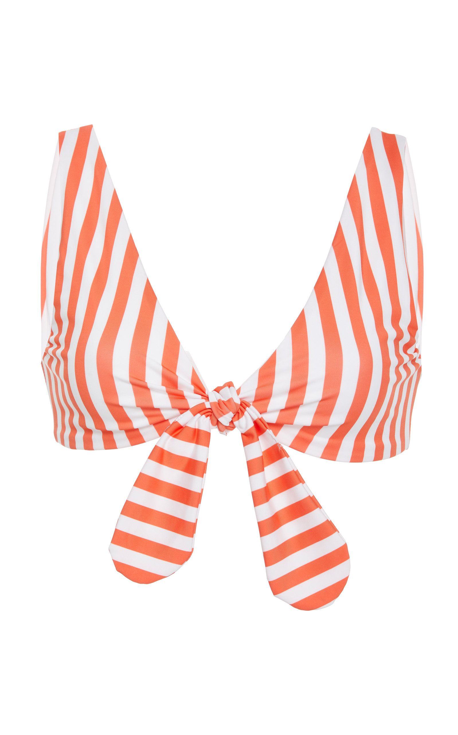 California knotted bikini top in have your people call my