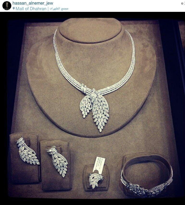 Hassan Al Nemer Jewellery Saudi Arabia Instagram Set In