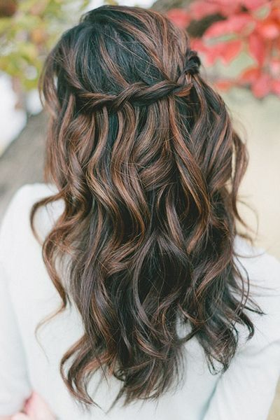 Fall Hairstyles Musttry Fall Hairstyles From Pinterest  Soft Waves Breeze And Dark