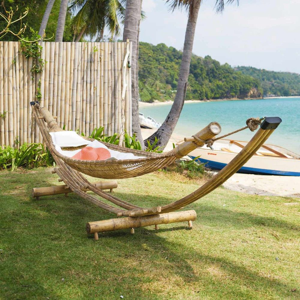 Hamac en bambou - Robinson | bamboo projects | Pinterest | Hamacs ...