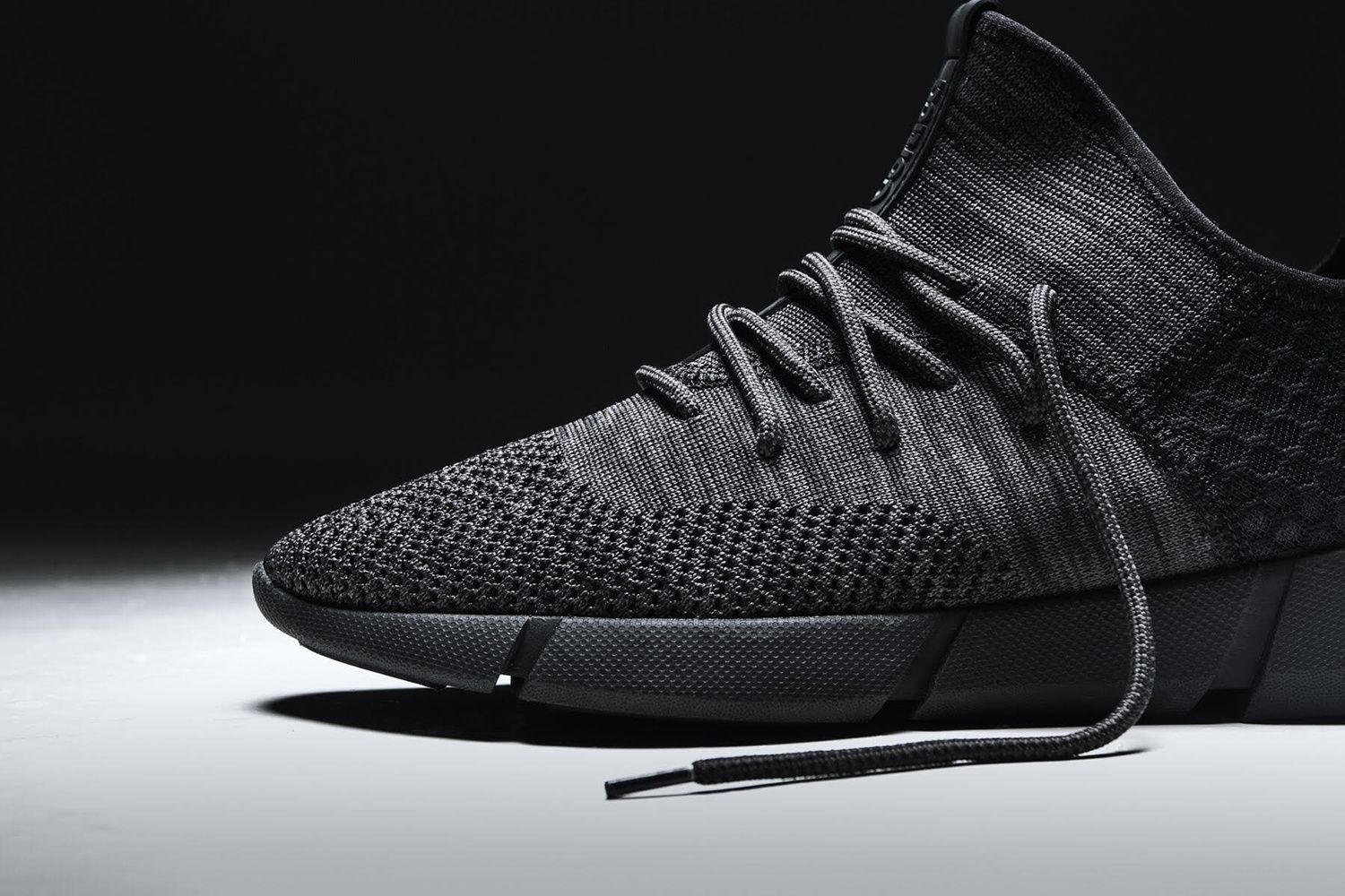 The Cortica Infinity Knit 2.0 Releases in Triple Black  45505cd20b899