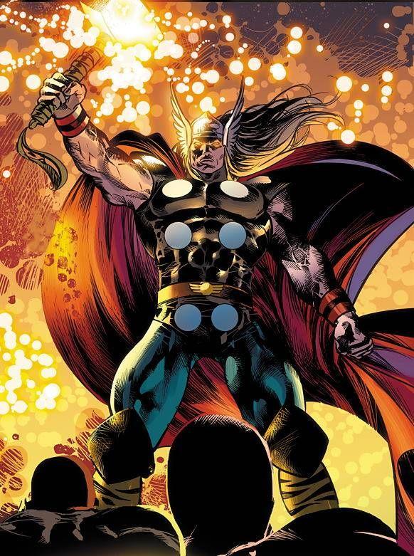 Ragnarok-- Thor's evil cyborg clone   Thor!   Asgard ...