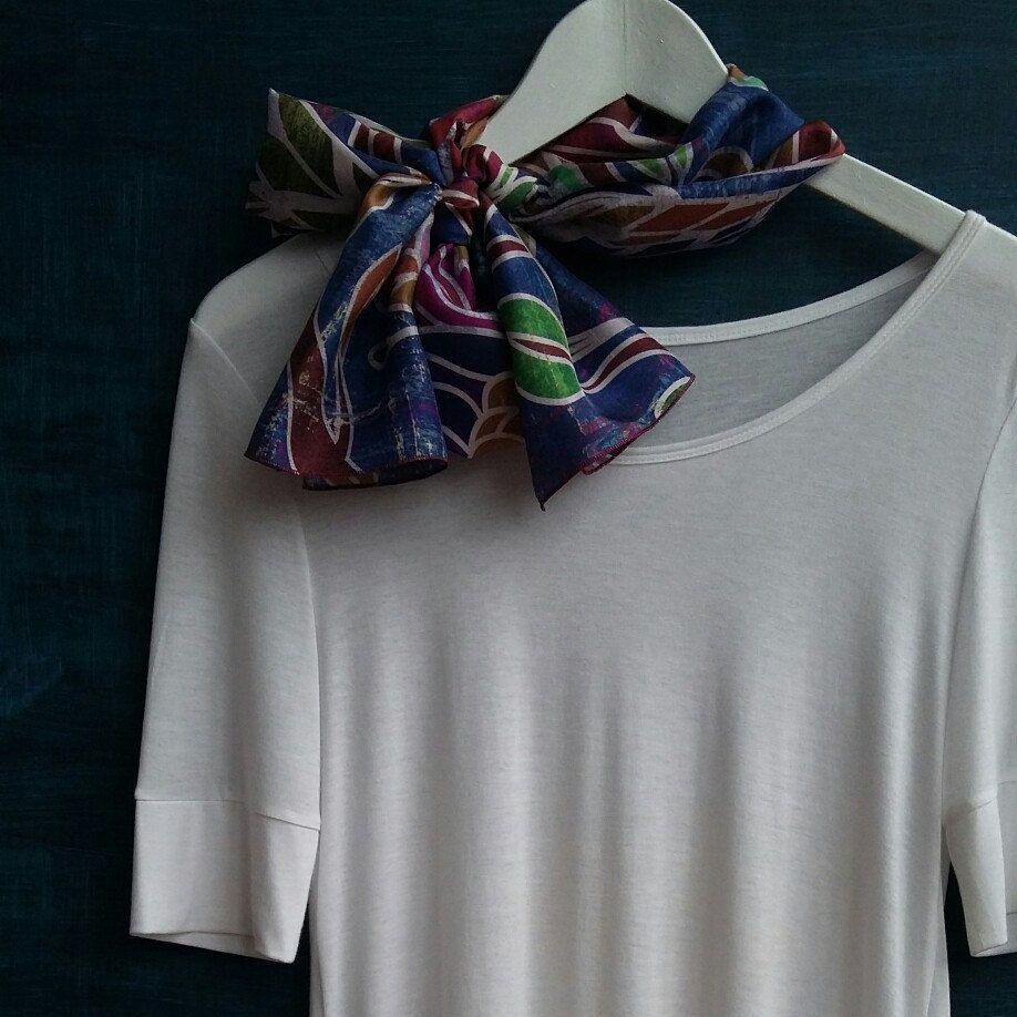 Cashmere Silk Scarf - Pearl by VIDA VIDA IV883Xbx