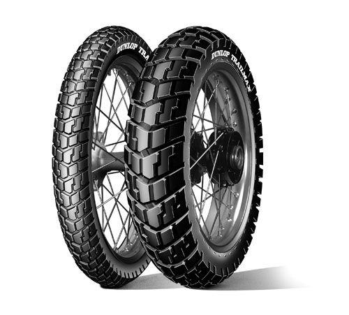 Dunlop Motorcycle Pneus Trailmax Scrambler Pneu Moto