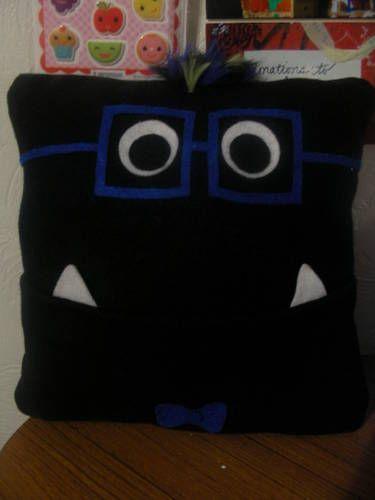 Monster Pocket Pillow for Monster swap
