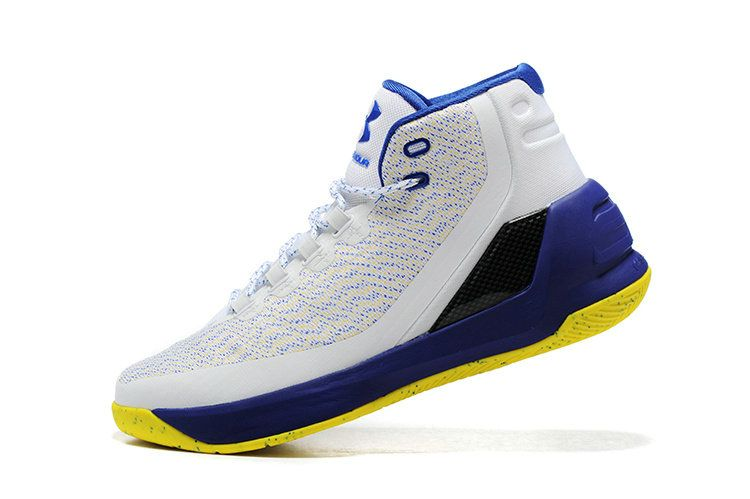 Free Shipping Only 69$ Under Armour Curry 3 III Dub Nation Golden State  Warriors Home