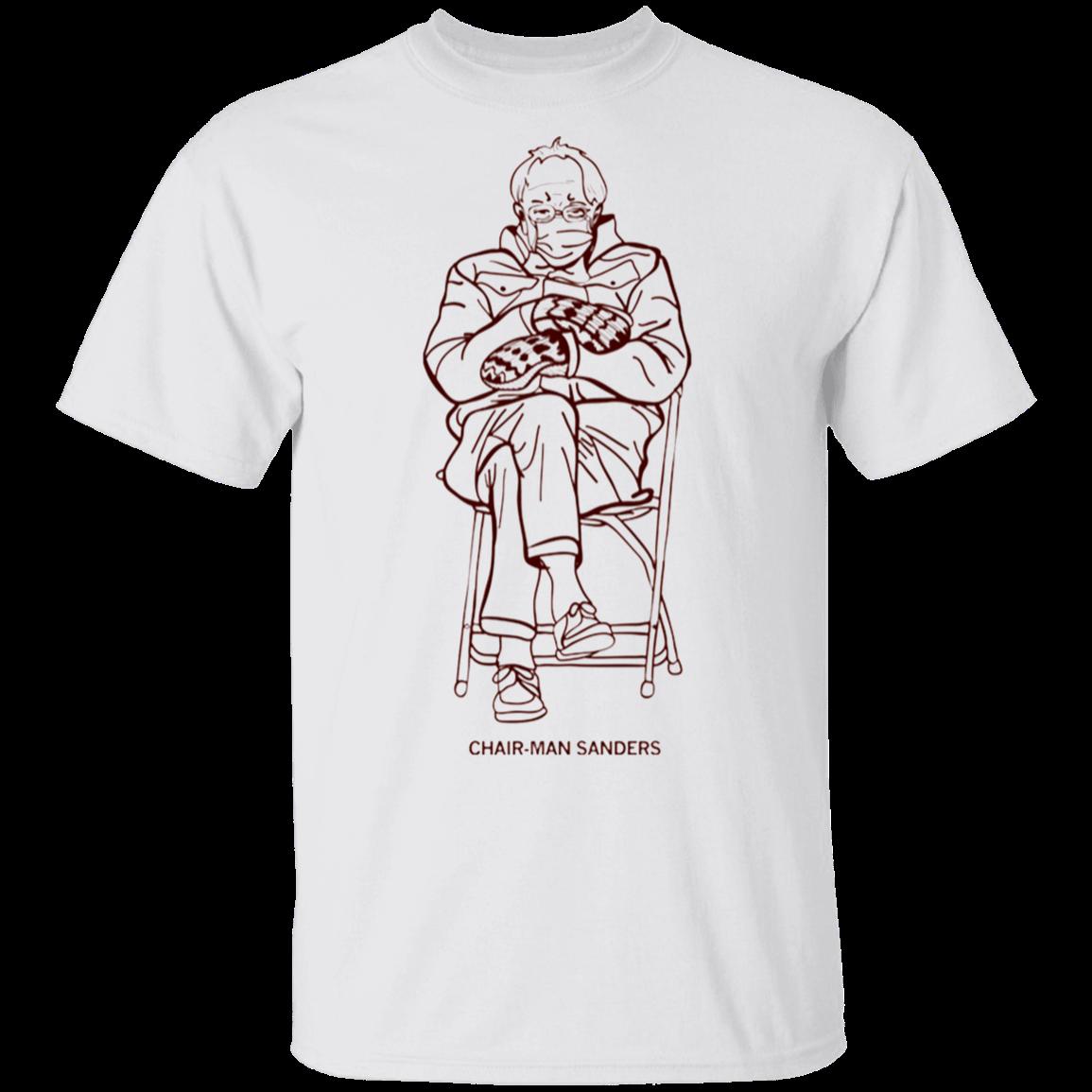 Bernie Sanders Mittens T Shirt Chairman Sanders Crewneck Bernie Meme Shirt Men Women In 2021 Meme Shirt Mens Shirts Tshirt Print