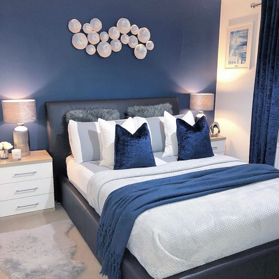 Best 27 Room Decor Bedroom Design Ideas For Your Inspiration Blue Bedroom Walls Blue Master Bedroom Bedroom Interior