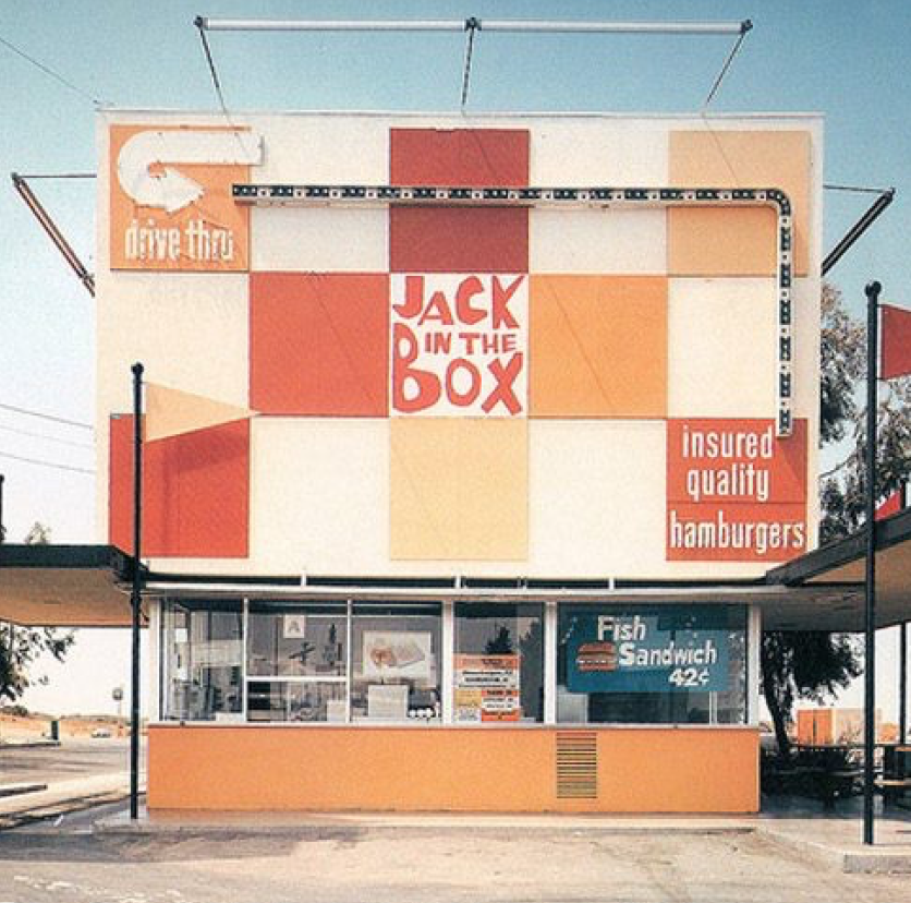 Before And After Photos Show How Much Fast Food Restaurants Have Changed Over The Years Jack In The Box Vintage Restaurant Fast Food