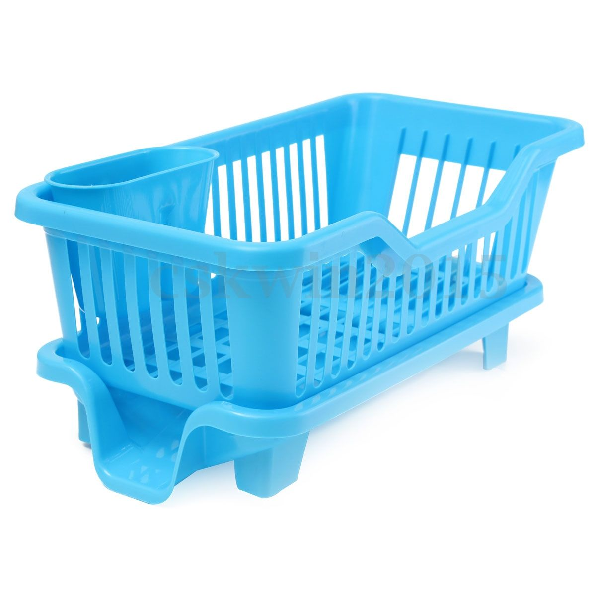 Kitchen Dish Cup Sink Drainer Drying Rack Washing Holder Basket ...