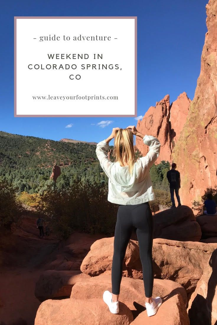 Weekend Trip to Colorado Springs, CO - Guide to Relaxation and Adventure #manitousprings