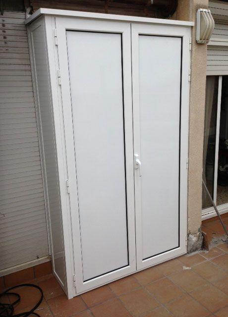 Armarios exteriores de aluminio galer as exteriores en aluminio y pvc armarios exterior en - Armario para jardin ...