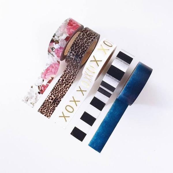 Washi Tape - Ocean Floral