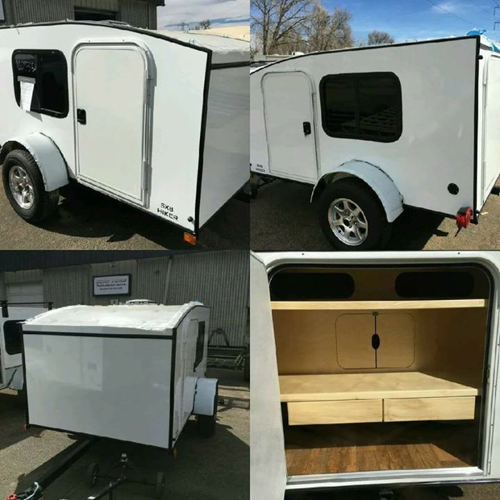 I have a 5x8 Deluxe Hiker Trailer in stock ready to go  Rare