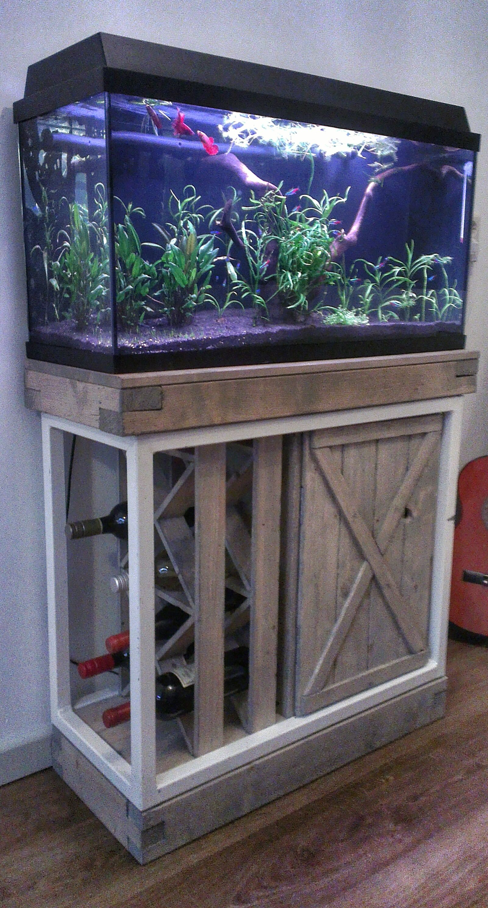 Aquarium Cabinet Wine Rack Home Aquarium Fish Tank Aquarium