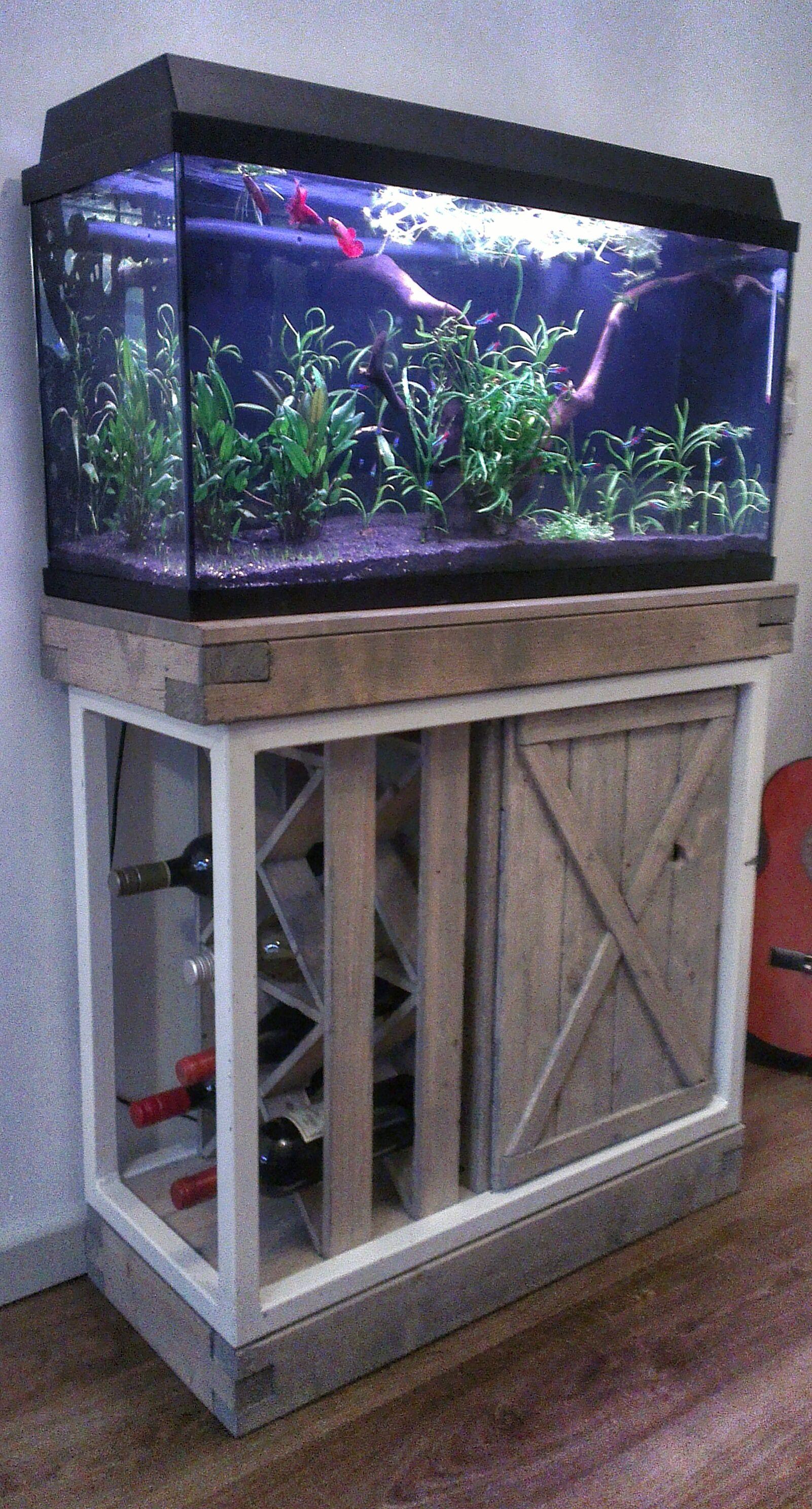 Aquarium Cabinet / Wine Rack Aquarium Cabinet, Marine Tank, Wine Rack, Wine  Cabinets