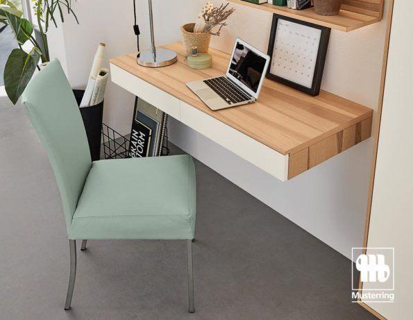 Musterring Stuhlwerk Polsterstuhl in Leder Mint Jetzt