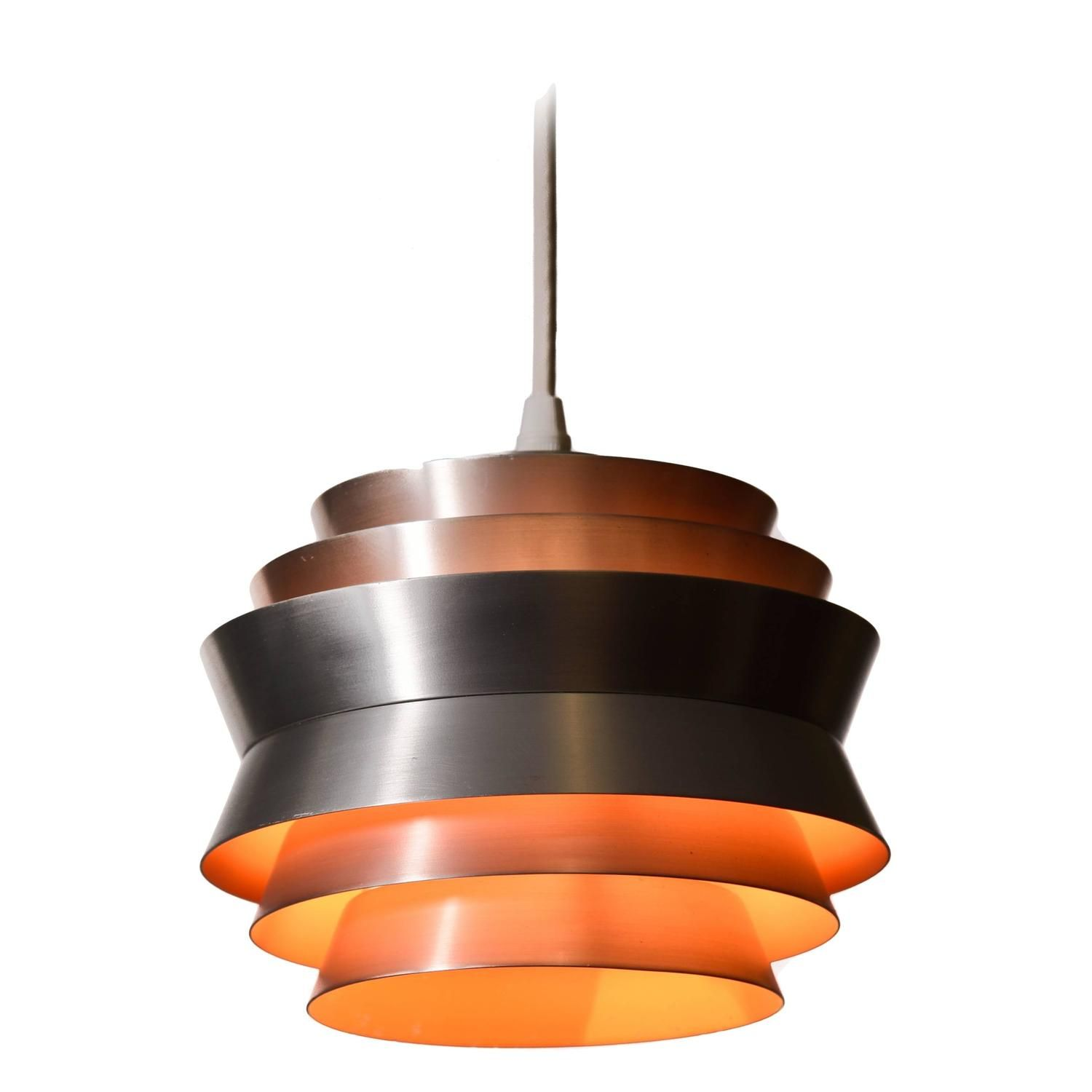 Danish modern six tiered pendant danish modern pendant lighting danish modern six tiered pendant from a unique collection of antique and modern chandeliers arubaitofo Image collections