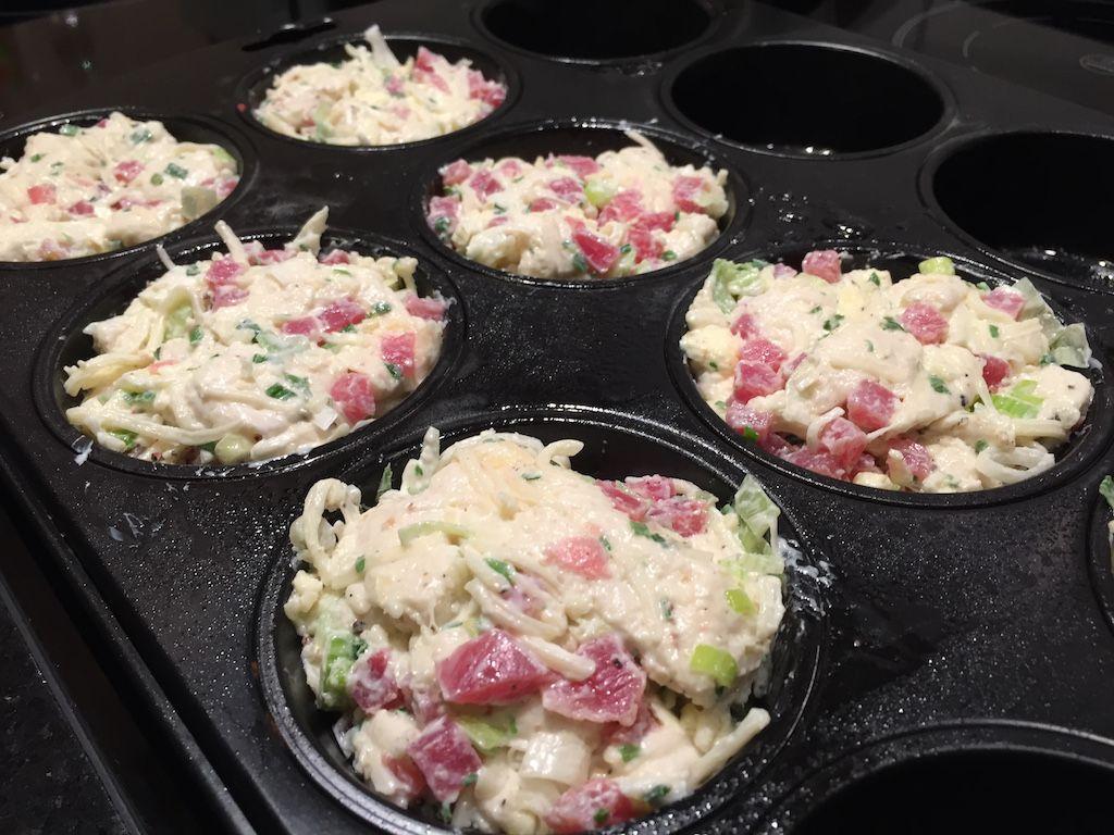 Photo of Flammkuchen-Muffins