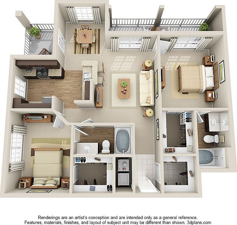 Bexley At Springs Farm Apartment Rentals Charlotte Nc Zillow House Layout Plans Sims House Plans House Plans