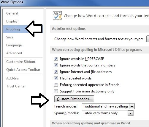 Help! Misspelled Words In My Dictionary | Worldstart's Tech Tips And Computer Help