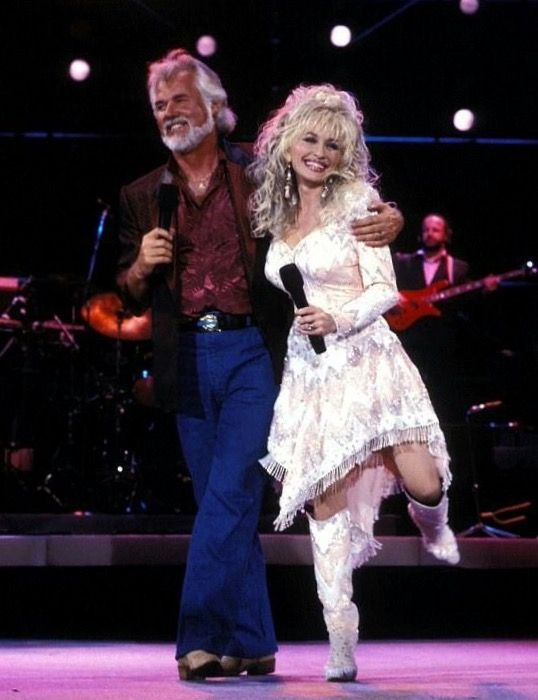 Kenny Rogers and Dolly Parton. (With images) | Hippie ...