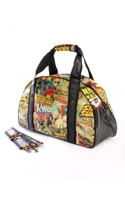 6c250cfea7b7 Pinup Girl Clothing- Marvel Retro Collection Gym Bag