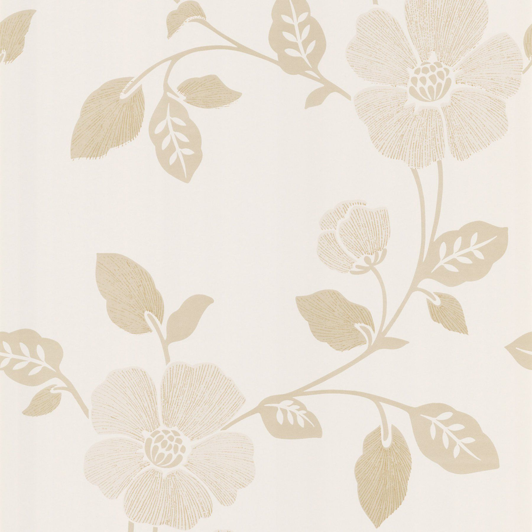 Beacon House Poppy Modern Floral Wallpaper 283 46959 Modern