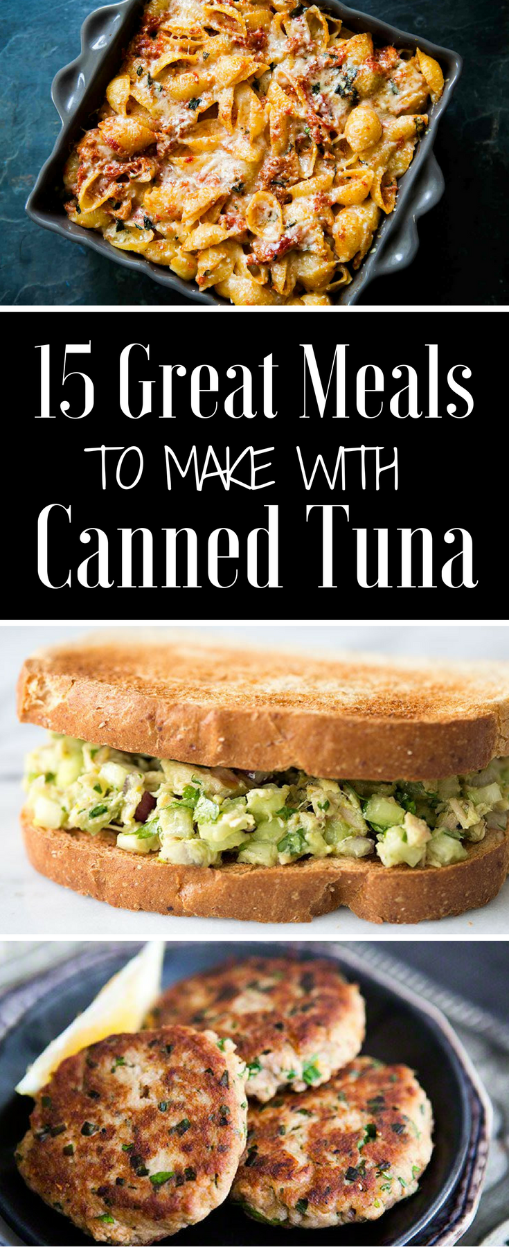 15 Great Meals To Make With Canned Tuna In 2019 Seafood