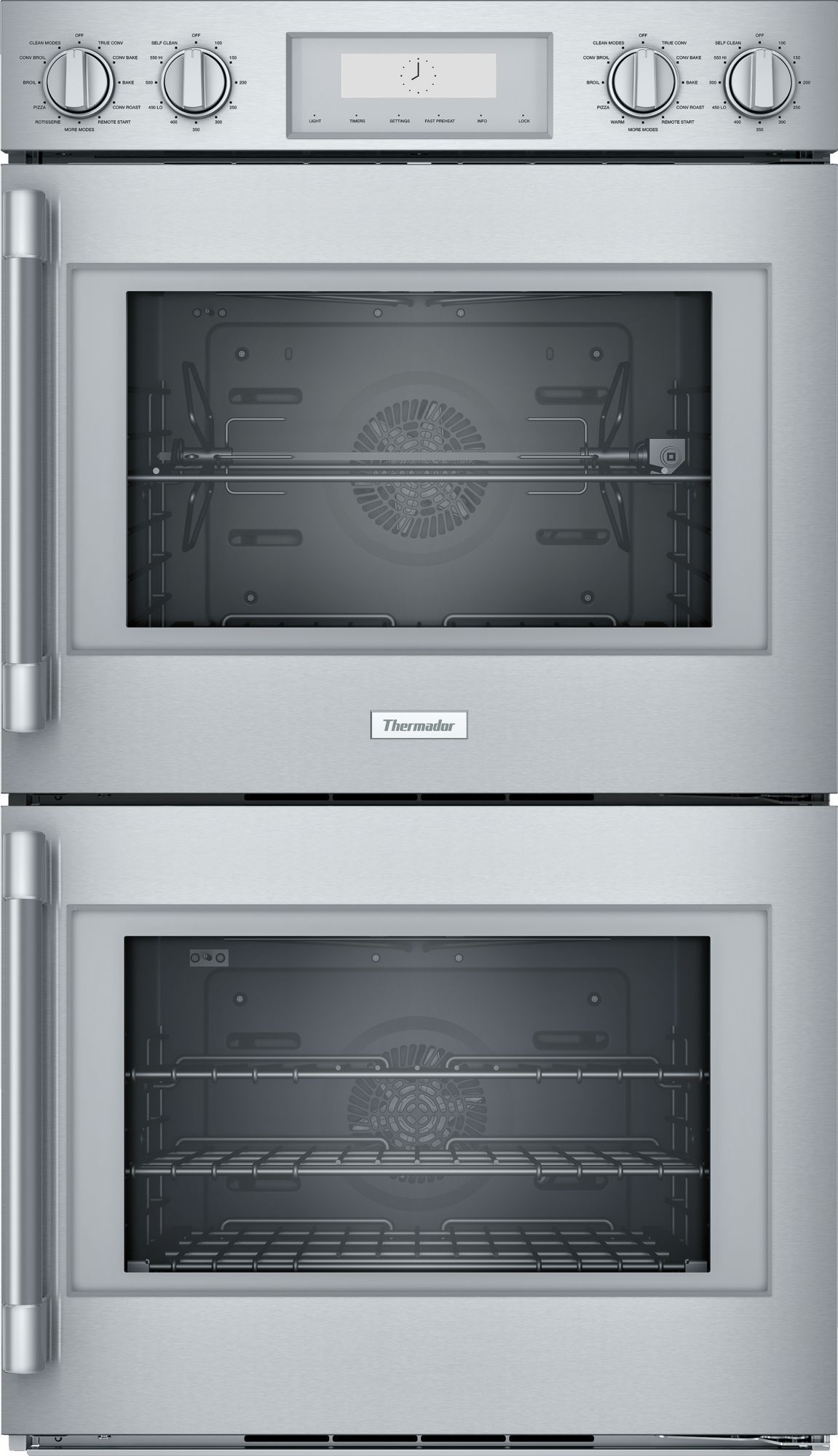 30 Inch Professional Double Wall Oven With Right Side Opening Door Pod302rw Thermador Wall Oven Double Wall Oven Double Oven
