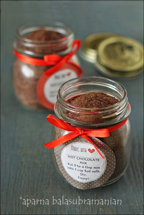 My Diverse Kitchen: Make It At Home : Spiced Hot Chocolate Mix & The Winner of The Giveaway