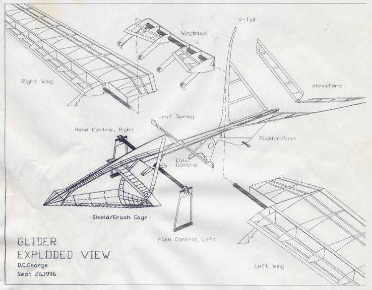 Drawing Hang Glider Design Learn Hang Gliding in NZ | Sports