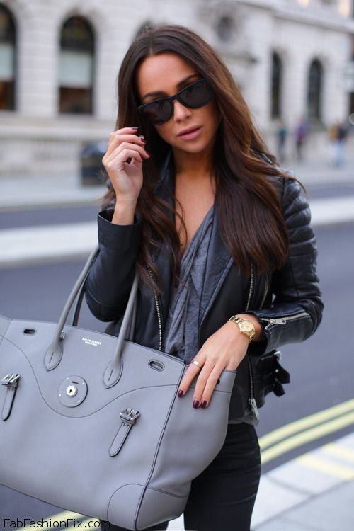 Love for black leather jacket. #leatherjacket