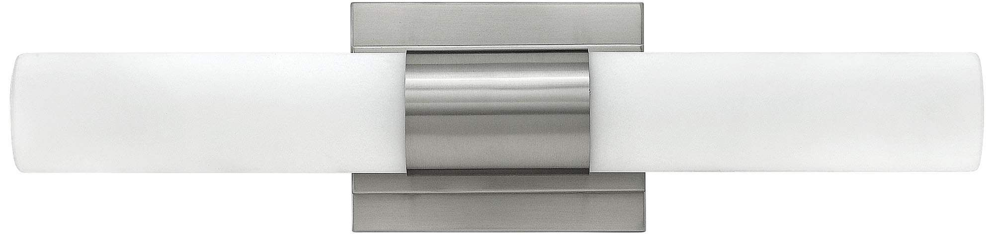 Photo of Hinkley Portia 19 Inch Wide Brushed Nickel Led Bath Light