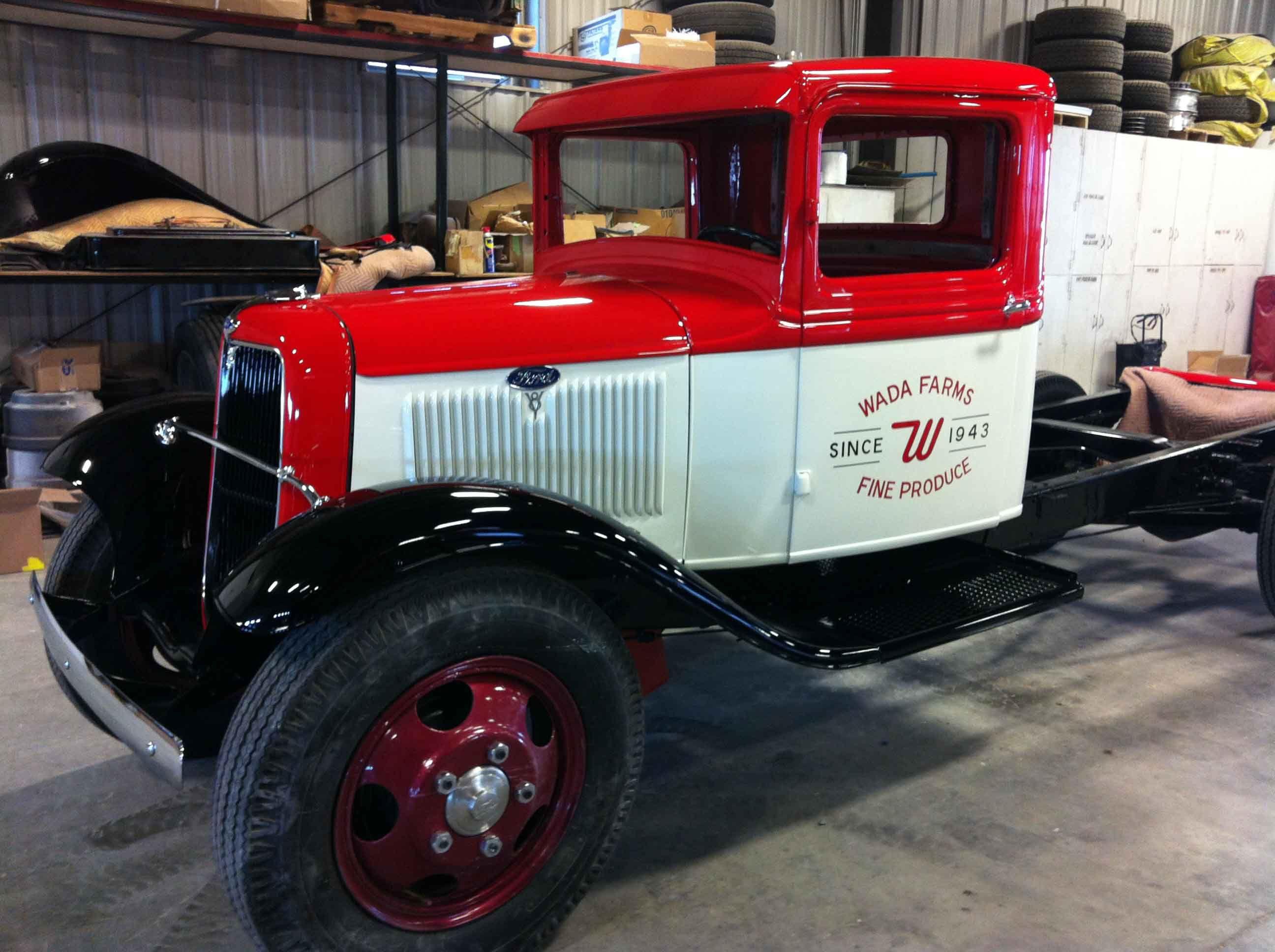 Wada Farms - Original 1934 Ford Truck | Original 1934 Ford Truck ...