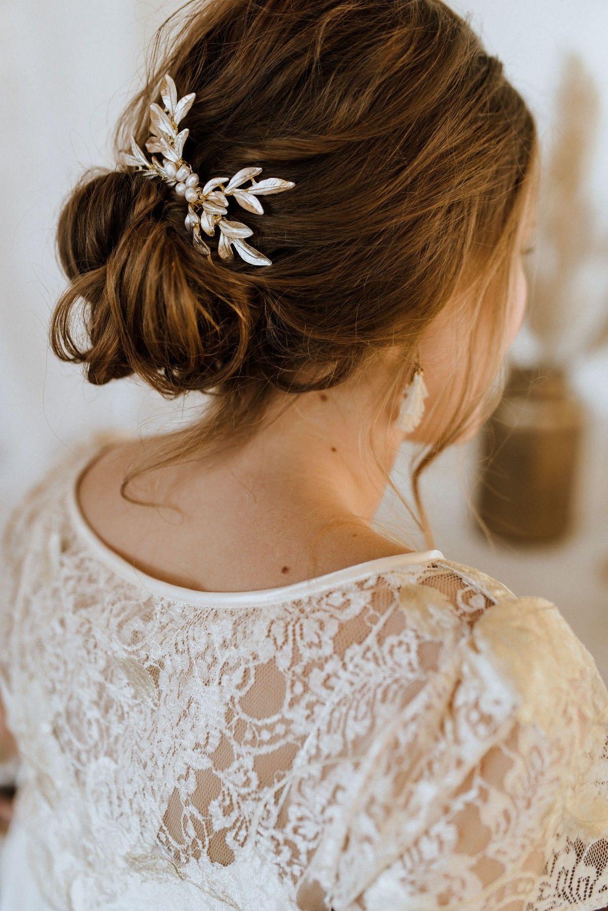 Labude Koeln - Bridal hairstyle loose updo  Brautfrisur, Frisur