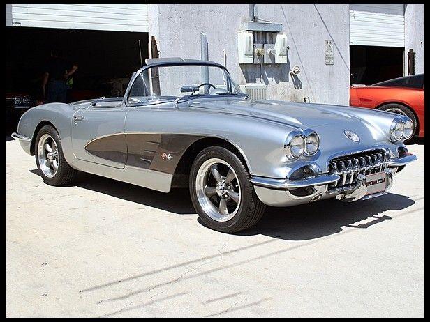 1959 Chevrolet Corvette Convertible 327 300 Hp 4 Speed