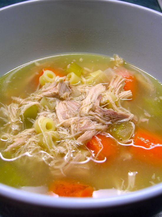 movita's slow cooker chicken noodle soup - Tonight's Dinner