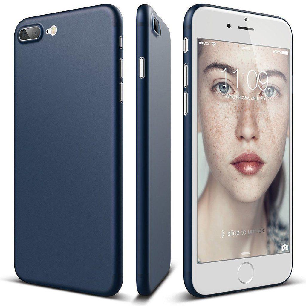 Visiocology: iPhone 7 Plus Ultrathin Slim Silicone Soft TPU Case Cover Skin