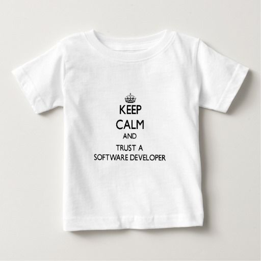 Keep Calm And Trust A Software Developer T Shirt Hoodie Sweatshirt