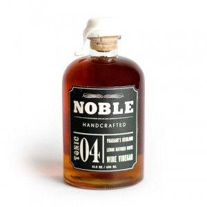 Noble Tonic 04 Lemon Mature White Wine Vinegar