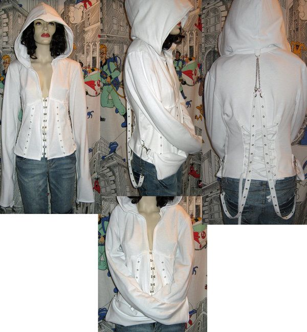 straight jacket hoodie @Katelynn Sherman going back to our convo ...