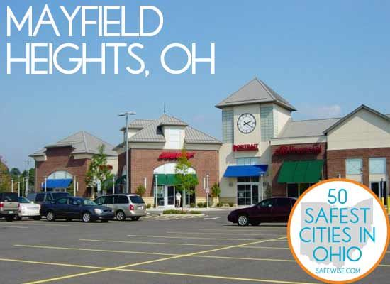 27. Mayfield Heights  Mayfield Heights offers residents an awesome place to live, complete with one of the nation's most honored school districts, one of the country's top rated hospitals, and one of the lowest tax rates to be found anywhere.