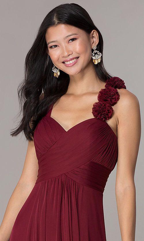 Sleeveless Full-Length Formal Sweetheart Dress ...