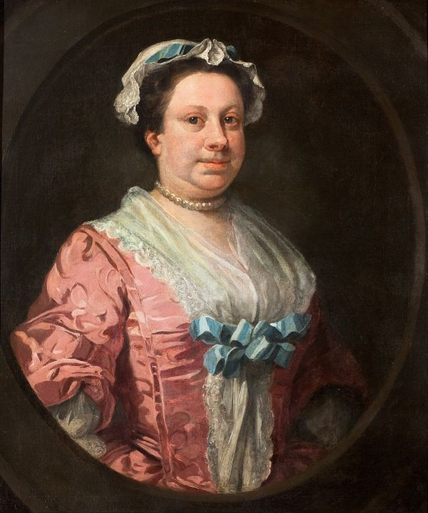 William Hogarth's 'Portrait of the Artist's Sister, Anne Hogarth.'