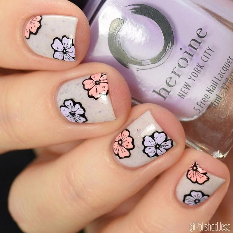 Lina Nail Art Supplies - 4 Seasons - Spring 01 | Gorgeous nails ...