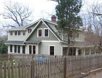 Mickey Simpson Historically Sensitive Second Floor Addition Cape Cod House Bungalow Exterior