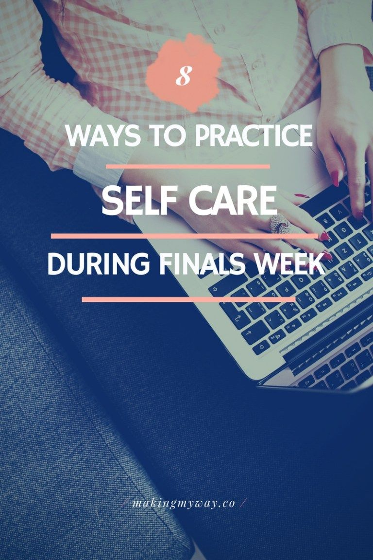8 Ways To Practice SelfCare During Finals Week is part of Organization College Finals - Hey, Y'all  This week has been so busy  I've had two exams and two papers due, but I'm surviving  Next week is finals week for me and many other college students, but instead of giving you all a plethora study tips, I'm writing a practical guide to selfcare during finals  This post is pretty long,…