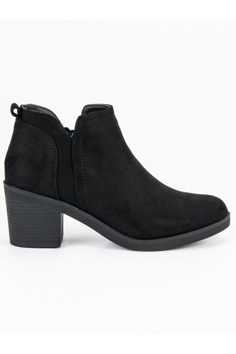 c1a2a6e25cee SK - Nakupujte online. Členkové topánky na podpätku Ideal Shoes